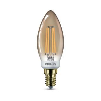 Bec Led Philips Filament Classic Gold B35 - 929001896301 - 8718696814093