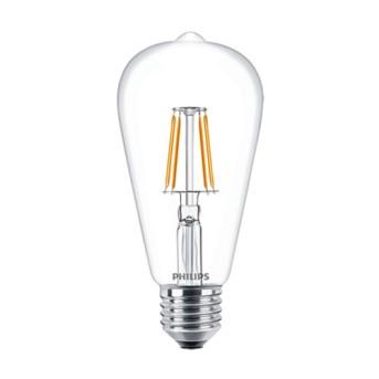 Bec LED Philips Classic Filament ST64 4 40W 2700K 470lm E27 - 929001237302 - 8718696574034