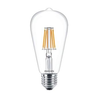 Bec LED Philips Classic Filament ST64 7 60W 2700K 806lm E27 - 929001387602 - 8718696742754