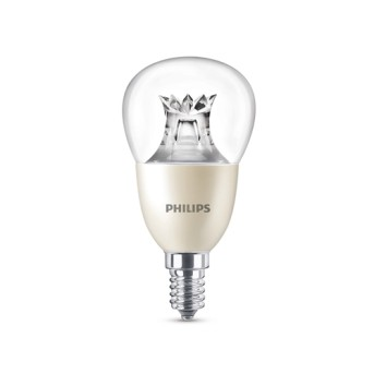 LED lustre P50 CL WarmGlow Dim 8-60W 2200-2700K (806lm) E14, 15.000h - 929001211917 - 8718696580653