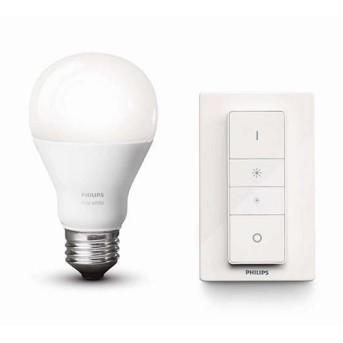 Set Philips HUE Bec white light si intrerupator dimabil - 929001137007 - 8718696452523