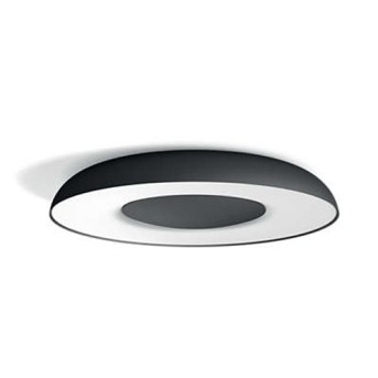 Plafoniera/Aplica tavan Philips HUE Still Negru bec LED si intrerupator dimabil inclus - 915005914001 - 8718696175224