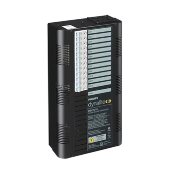 Dynalite DBC1210 is a 12-channel signal dimmer controller featuring a max. load of 10 A per channel - 913703036009 - 8710163506609