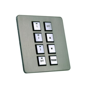 Dynalite DPNE982-SF is a 8 Button Programming Panel - Screw less Fixing - 913703202509 - 8710163508245
