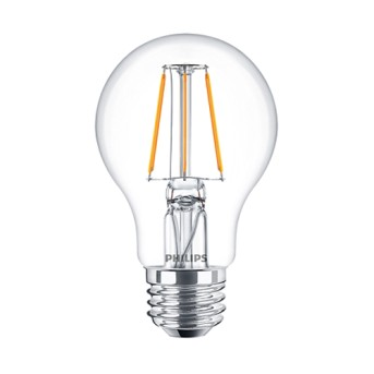 LED Classic Filament A60 CL 4 40W E27 2700K 470lm E27 15.000h - 929001237102 - 8718696573990
