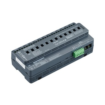 Dynalite DDRC1220FR-GL 12 channel controller supports switched loads of up to 20 A per channel - 913703243009 - 8718696887950