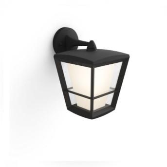 HUE 1744030P7 Aplica Econic Down 15W LED RGB Negru IP44 - 915005732301 - 8718696170588
