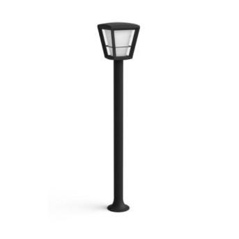 HUE 1744230P7 Lampa de gradina Econic 15W LED RGB 100cm Negru IP44 - 915005732701 - 8718696170601