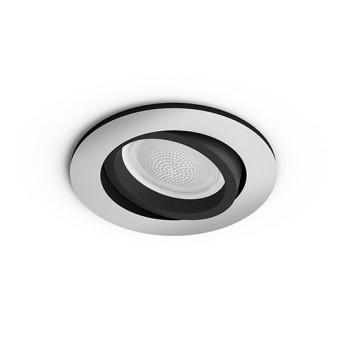 HUE 5045148P7 Spot Centura incastrat 5.7W LED RGB GU10 BT Aluminiu - 915005766601 - 8718696171752