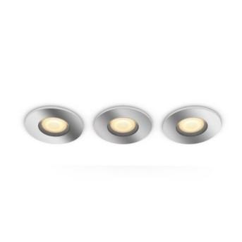HUE 3417611P6 Set 3 Spot incastrat Adore 5W LED Ambiance GU10 BT Crom - 915005918901 - 8718696175682