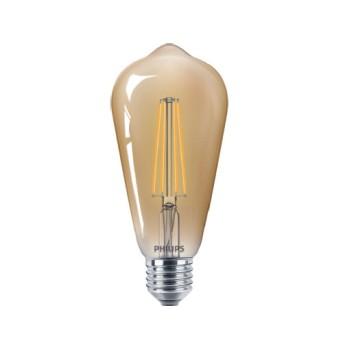 LED Classic Filament ST64 Dim Gold 7 55W 2500K 720lm E27 15.000h - 929001228502 - 8718696575710