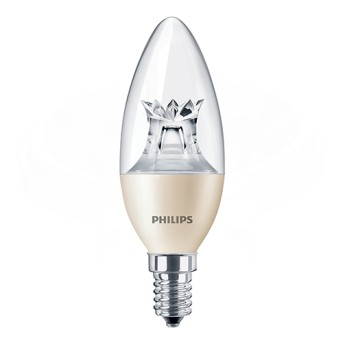 LED candle B40 CL WarmGlow 8-60W 2200-2700K 806lm E14 15.000h - 929001211717 - 8718696555972