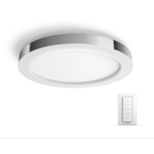 Aplica Philips HUE Adore Crom 1x40W LED 2400lm 2200-6500K 24V cu variator inclus IP44 - 3435011P7 - 8718696167564 - 915005587301