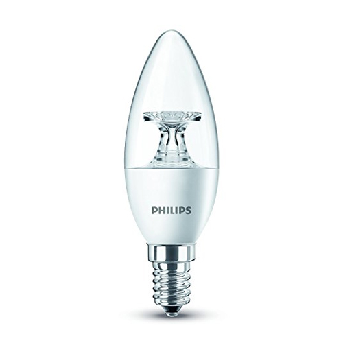 Bec lumanare Philips LED candle B35 CL 5.5 40W 2700K 470lm E14 15.000h - 929001142558 - 8718696454770