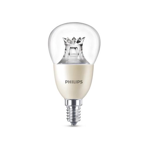 BEL LED lustre P50 CL WGD Dim 8-60W 2200-2700K 806lm E14 15.000h - 929001211917 - 8718696580653