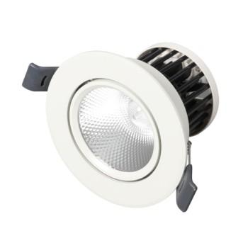 Spot LED 8W 590lm 4000K WFL Alb Mobil 68mm IP20 RAD - 4003556005402