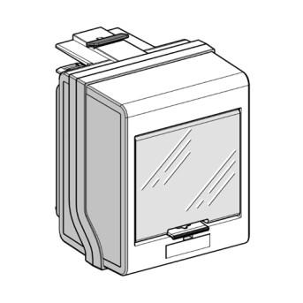 KSB32CM55 Conector 5 module 3L+N+PE 32A - KSB32CM55 - 3606480005978