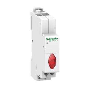 A9E18327 Lampa de semnalizare cu indicator luminos trifazat rosu - A9E18327 - 3606480088391