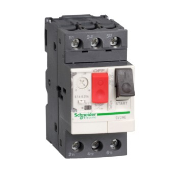 GV2ME05 Intrerupator automat 3P pentru motor 0.63-1A - GV2ME05 - 3389110343038