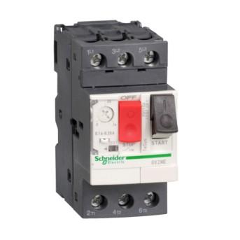 GV2ME06 Intrerupator automat 3P pentru motor 1-1.6A - GV2ME06 - 3389110343052