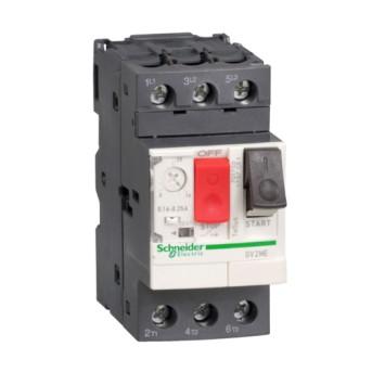 GV2ME08 Intrerupator automat 3P pentru motor 2.5-4A - GV2ME08 - 3389110343090