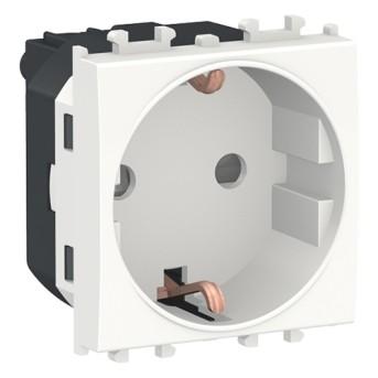 LMR5210001 Easy Styl Priza DE 16A 2P+E 2 module Alb - LMR5210001 - 3606489428396