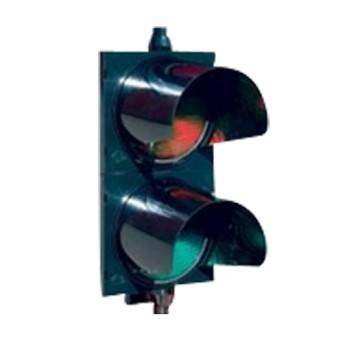 75412081 Semafor LED 2S2TL PC ROSU/VERDE cu masca, IP56 - 75412081 - 5944012010778