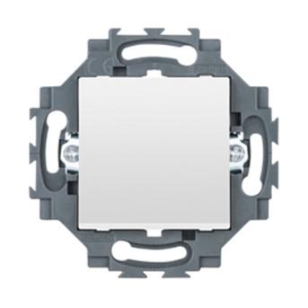 Intrerupator Dahlia cu LED 1P 10A, Alb - GW35002W - 8011564862418