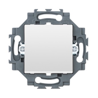 Dahlia Intrerupator cap cruce 1P 10A, Alb - GW35015W - 8011564862494
