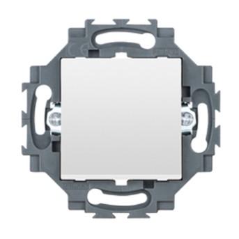 Dahlia Intrerupator cap scara iluminabil 1P 10A, Alb - GW35071W - 8011564862463