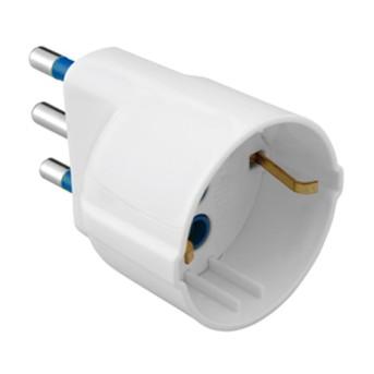 Adaptor 16A 2P+E W.1 Alb - GW28410 - 8011564002890