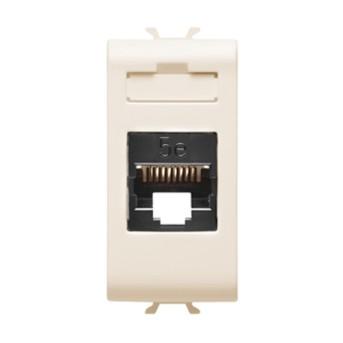 Priza UTP RJ45 cat 5e 1 modul CH/IV - GW11421 - 8011564257771