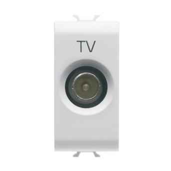 Priza TV 10dB 1 modul CH/WH - GW10363 - 8011564259584
