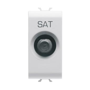 Priza TV/SAT 1M CH/WH - GW10372 - 8011564259362