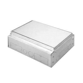 GW24621 Carcasa metal doza pardoseala 10-16 module - GW24621 - 8011564759657
