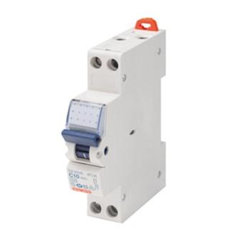 GW90046 Disjunctor bipolar 10A 2P 4.5KA 1M - GW90046 - 8011564056510