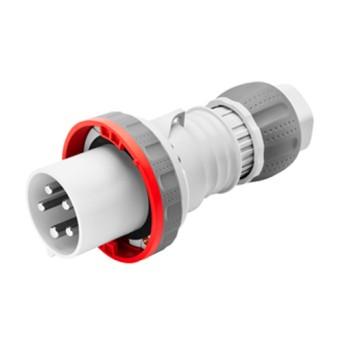 Fisa industriala 3P+N+T 63A 400V 6h, Rosu, IP66-IP69 - GW61053 - 8011564023789