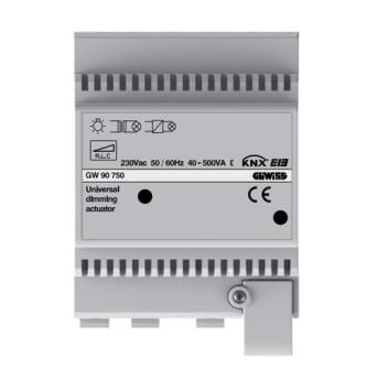 GW90750 Dimmer universal actuator 500VA 4 module - GW90750 - 8011564759367