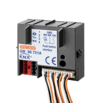 GW90721A Intrare binara KNX, 4 canale - GW90721A - 8011564794016
