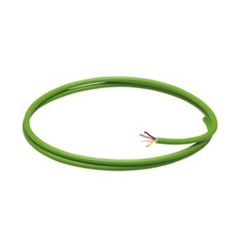 Cablu KNX Easy BUS 4 conductori 2x2x0,8 diametru 6,1mm Verde, Rola 100m - GW90582 - 8011564132719