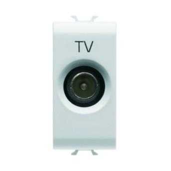 Priza TV 14dB 1 modul CH/WH - GW10364 - 8011564259591