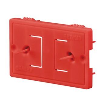 Capac protectie pentru doza 4 module sub tencuiala - GW24404P - 8011564443426