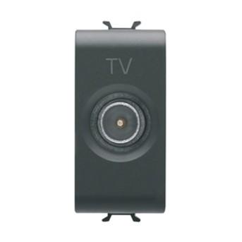 Priza TV De trecere, Tata CH/BK - GW12362 - 8011564268906