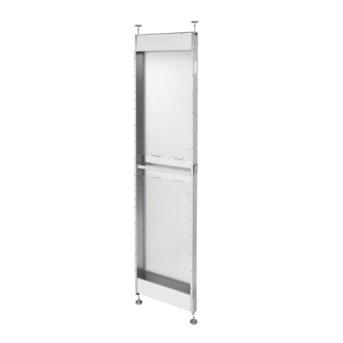 GWN1003 Domo Center Accesoriu metalic (spate) pentru tencuiala si gips-carton H2700mm - GWN1003 - 8011564832442