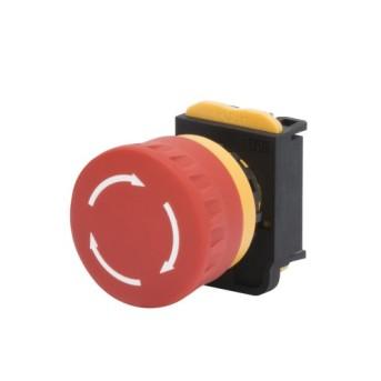 GW74361 Buton ciuperca rotund 40mm - GW74361 - 8011564822887