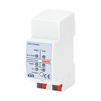 Linie de cuplare pe sina DIN 2 module - 8011564855120