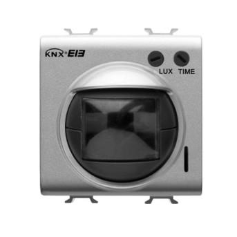 GW10786 Detector de miscare KNX IR cu senzor de lumina 2 module CH/WH - GW10786 - 8011564263857