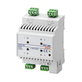 Actuator 4 canale 16A - GW90740A - 8011564763814