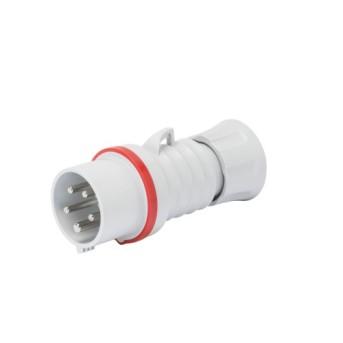 GW60020FH Fisa industriala 3P+T 32A 400V 6h CR Rosu IP44/IP54 - GW60020FH - 8011564796874