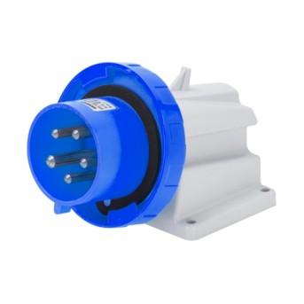 GW60438 Priza industriala fixa 90G 3P+E 32A 230V 9h IP67 Albastru - GW60438 - 8011564010703